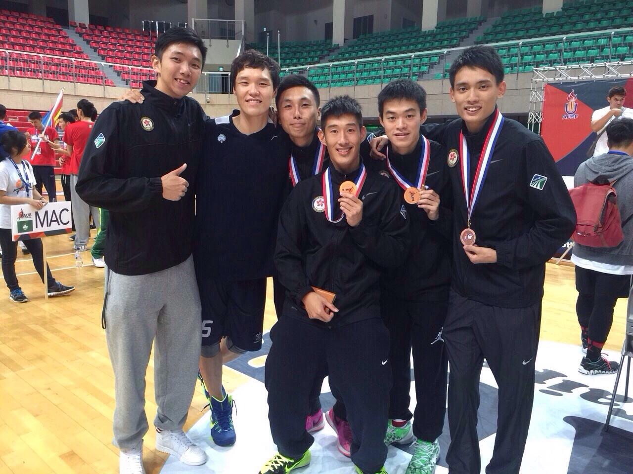 英華仔聚首台北亞洲大學生籃球賽